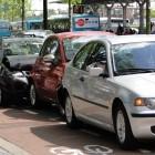 auto-ongeluk kop-staartbotsing