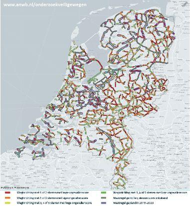 veiligheid provinciale wegen