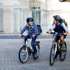 Kinderen in het verkeer