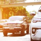 Aanrijding tijdens ritsen op snelweg