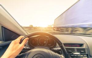 Aanrijding ritsen snelweg