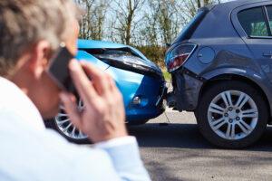 Bedrijfsongeval auto-ongeluk